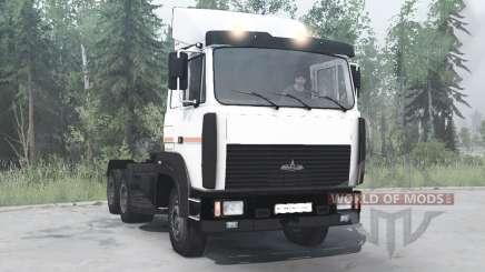 МАЗ 64226 6x4 1989 для MudRunner