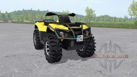 Can-Am Outlander 1000 XT v2.1 для Farming Simulator 2017