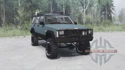 Jeep Cherokee (XJ) 1993 для MudRunner