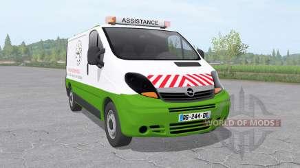 Opel Vivaro Van 2006 assistance technique v1.01 для Farming Simulator 2017
