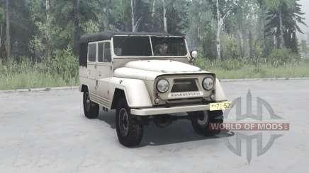 УАЗ 460Б 1960 для MudRunner