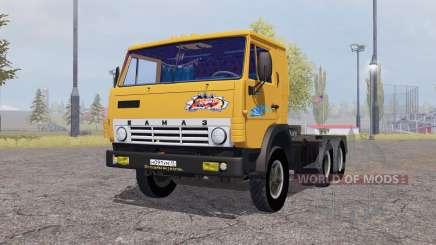 КамАЗ 5410 1972 с полуприцепом для Farming Simulator 2013