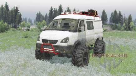 ГАЗ 2705 ГАЗель v2.0 для Spin Tires