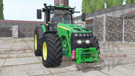John Deere 8345R EU v2.1 для Farming Simulator 2017