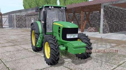 John Deere 7330 Premium для Farming Simulator 2017