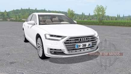 Audi A8 TFSI quattro (D5) 2018 для Farming Simulator 2017