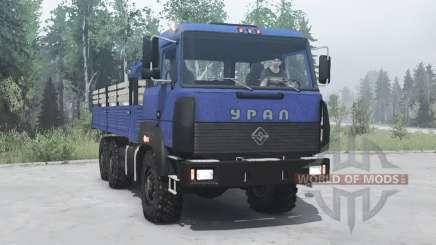 Урал 4320-3111-78 6x6 v2.0 для MudRunner