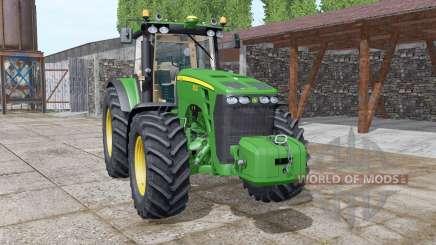 John Deere 8230 v5.0 для Farming Simulator 2017
