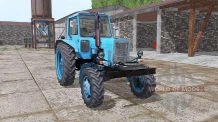 МТЗ 80 Беларус светло-голубой для Farming Simulator 2017