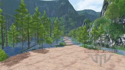 Wetlands Logging для Farming Simulator 2015