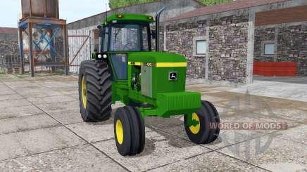 John Deere 4240 v4.0 для Farming Simulator 2017