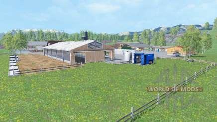 Hofgut Baden v3.0 для Farming Simulator 2015