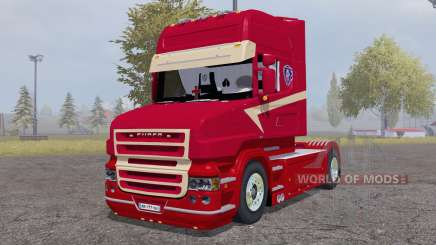 Scania T164L 580 two-axle Topline 1995 для Farming Simulator 2013