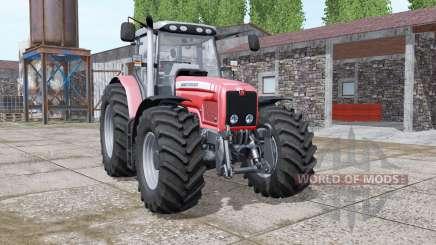 Massey Ferguson 6475 v1.1 для Farming Simulator 2017