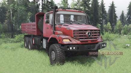 Mercedes-Benz Zetros 3643 A для Spin Tires