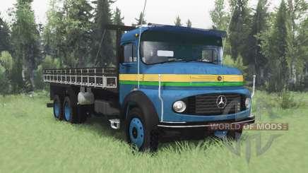 Mercedes-Benz L 1313 для Spin Tires