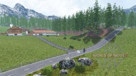 Sudtiroler Bergwelt для Farming Simulator 2015
