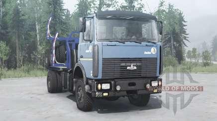 МАЗ 5434 4x4 для MudRunner