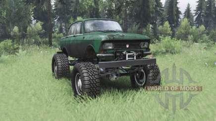 Москвич 412 монстр-трак для Spin Tires