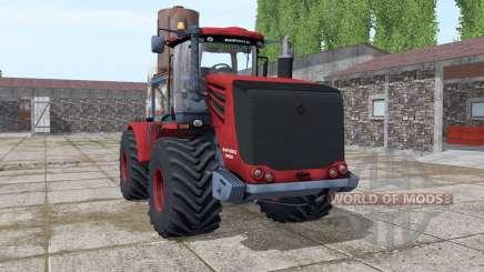 Кировец 9450 тёмно-красный для Farming Simulator 2017