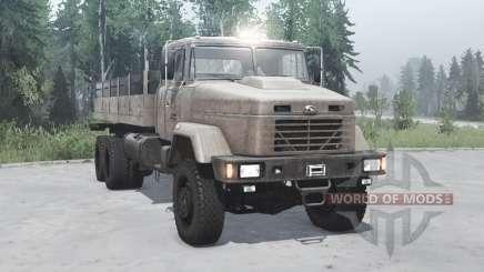 КрАЗ 63221 2013 для MudRunner