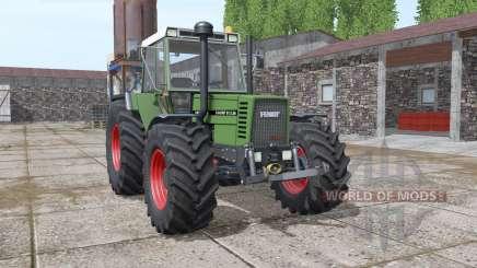 Fendt Favorit 612 LSA Turbomatik E washable для Farming Simulator 2017
