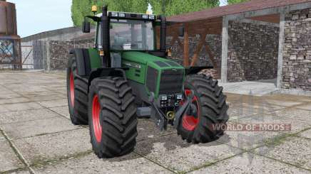 Fendt Favorit 818 wide tyre для Farming Simulator 2017