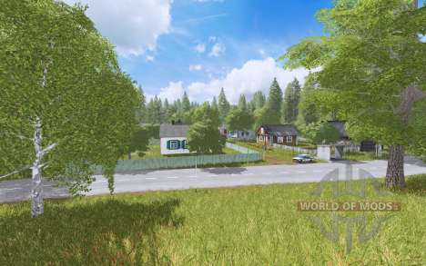 Село Ягодное v1.3.6 для Farming Simulator 2017