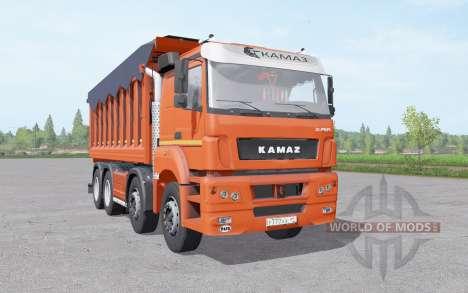 КамАЗ 65201 v2.0 для Farming Simulator 2017