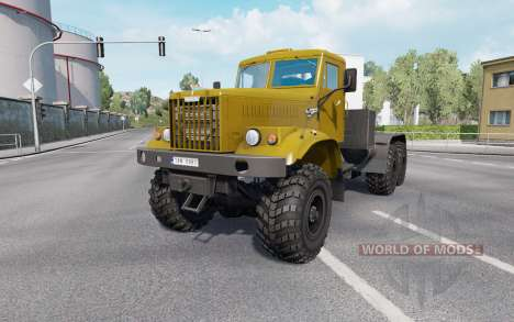 КрАЗ 255 v1.33 для Euro Truck Simulator 2