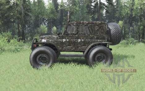 УАЗ 3151 ТРЭКОЛ для Spin Tires