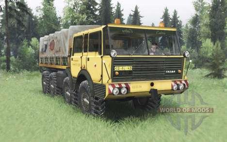 Tatra T813 TP 8x8 1967 для Spin Tires