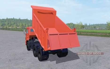КамАЗ 65115-48 v1.1 для Farming Simulator 2017