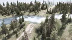 Разбитые дороги и броды для MudRunner