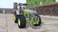 John Deere 8530 green для Farming Simulator 2017