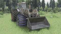 Т-40АМ погрузчик v1.2 для Spin Tires