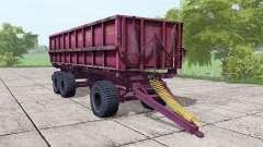 ПСТБ 17 тёмно-розовый для Farming Simulator 2017