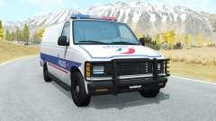 Gavril H-Series Police Nationale для BeamNG Drive
