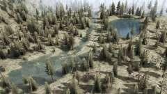 Горные реки и озера для MudRunner