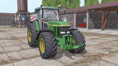 John Deere 7810 green для Farming Simulator 2017