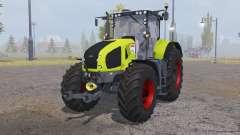 CLAAS Axion 950 bright yellow для Farming Simulator 2013