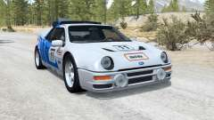 Ford RS200 Evolution Group B rally car 1986 для BeamNG Drive