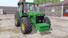 John Deere 8410 front weight для Farming Simulator 2017