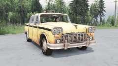 Checker Marathon Taxi (A11) 1970 для Spin Tires