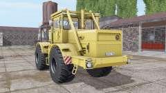 Кировец К-700А мягко-жёлтый для Farming Simulator 2017