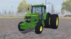 John Deere 7810 dual rear для Farming Simulator 2013