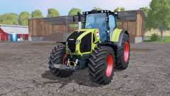 CLAAS Axion 950 twin wheels для Farming Simulator 2015