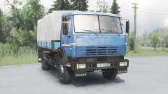 КамАЗ 43253 синий для Spin Tires