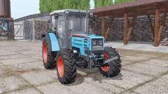 Eicher 2090 Turbo soft cyan для Farming Simulator 2017
