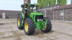 John Deere 7530 Premium v5.0 для Farming Simulator 2017